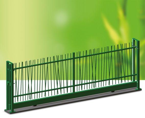 jungle spijlenhekwerk en poorten jungle your garden kopal. Black Bedroom Furniture Sets. Home Design Ideas